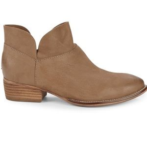 Seychelles bait leather western ankle booties